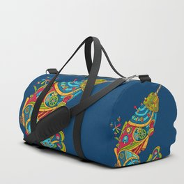 Narwhal, cool art from the AlphaPod Collection Duffle Bag