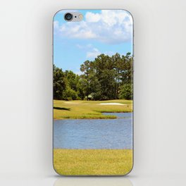 Golf Course Beauty iPhone Skin