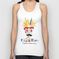 french fries Tank Tops featuring French Fries by Elisandra