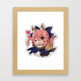 Fate/Grand Order Tamamo No Mae Framed Art Print