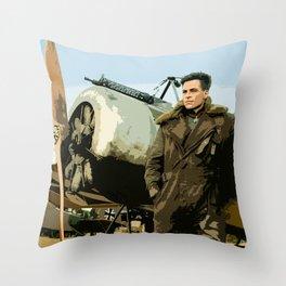 Steve Trevor Throw Pillow