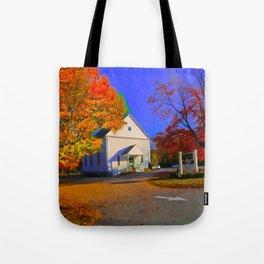 Church in the Wildwood Tote Bag