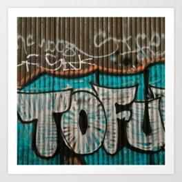 I love tofu Art Print