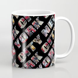New York City (typography diagonal) Coffee Mug