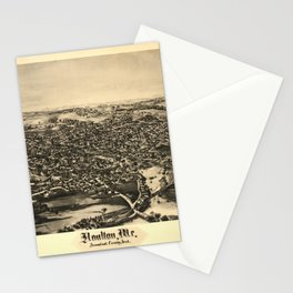Aerial View of Houlton, Maine (1894) Stationery Cards