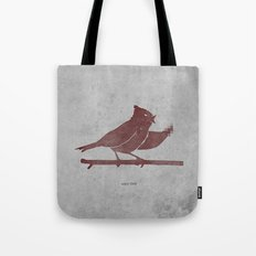 the bird is the f-word Tote Bag