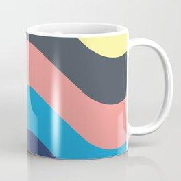 Retro Californian Waves Coffee Mug