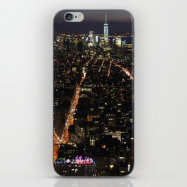 New York of lights iPhone Skin
