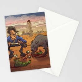 Now, now Percival! What have I told you about manners at the table? Stationery Cards