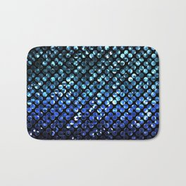 Crystal Bling Strass Blue G312 Bath Mat