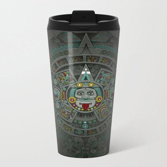 Stone of the Sun II. Metal Travel Mug