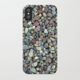 Rocks on Ground Color Photo iPhone Case