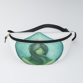 Tear Drop-Turquoise Fanny Pack