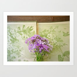 Book of Phlox Art Print