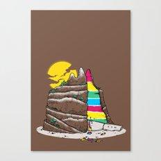 The Grand-CAKE'nyon Canvas Print