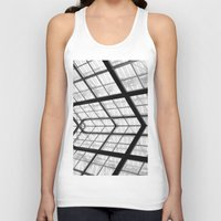 san diego Tank Tops featuring San Diego library by eightjay