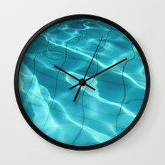 Water / Swimming Pool (Water Abstract) Wall Clock