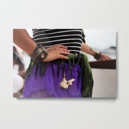 Pirate Series - Belts #4 Metal Print