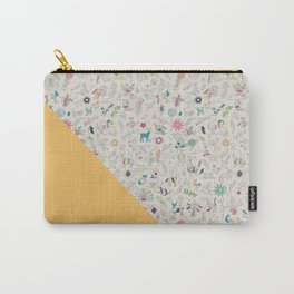 Pez Otomi yellow by Ana Kane Carry-All Pouch
