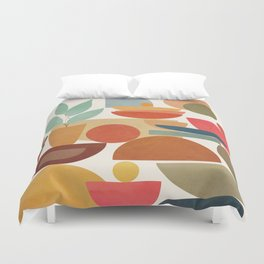 Modern Abstract Art 78 Duvet Cover