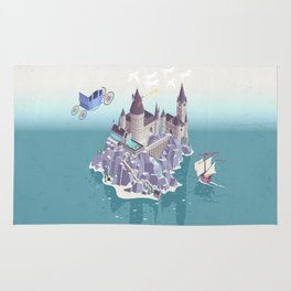 Hogwarts series (year 4: the Goblet of Fire) Rug