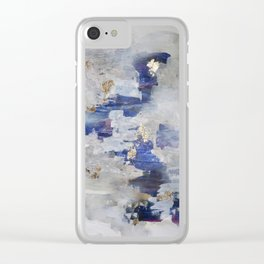 North Gold Clear iPhone Case