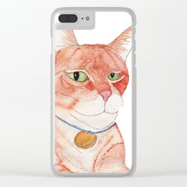 Wilbur Clear iPhone Case