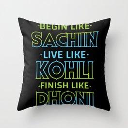 Cricket Game Funny Cricket Player Cricket Team Gift Coach Throw Pillow