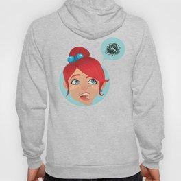 redhead bla Hoody
