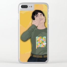 Connor Franta Hearts Clear iPhone Case