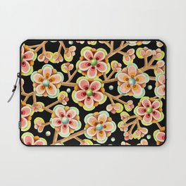 Candy Apple Blossom Laptop Sleeve