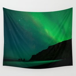 Night with the Northern Lights Wall Tapestry