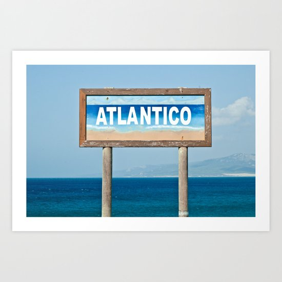 Atlantico Art Print
