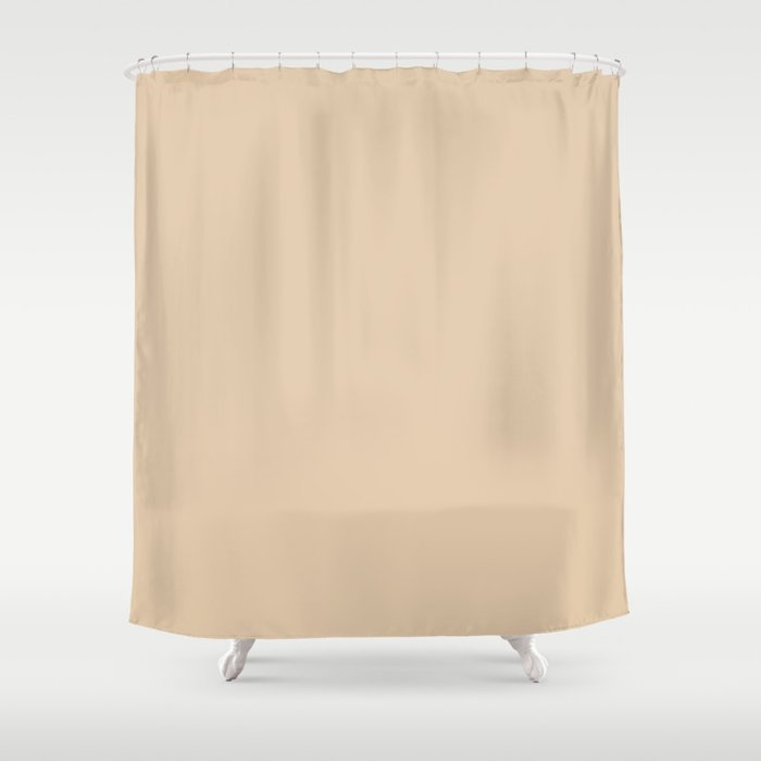 Gray Sand Shower Curtain