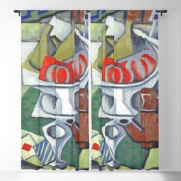 Jean Metzinger Still Life Blackout Curtain