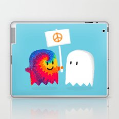Hippie ghost Laptop & iPad Skin