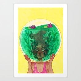 Bubbled Up Art Print