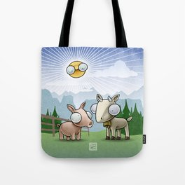Do you eat only grass? Tote Bag