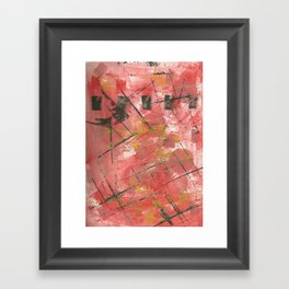Uh Huh1 Framed Art Print