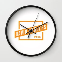 David Rodgers Park Wall Clock
