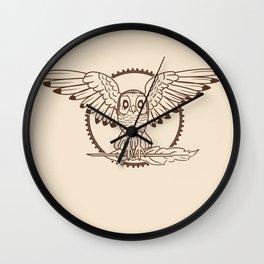 Mystical Owl Wall Clock