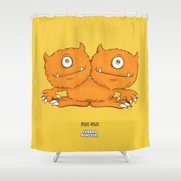 Jeebee Heebee Shower Curtain