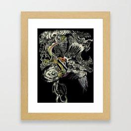 Darlings & Dragons from Matter to Fantasy Framed Art Print