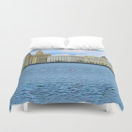 Liverpool Water Front Duvet Cover