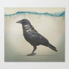 Raven Band Canvas Print