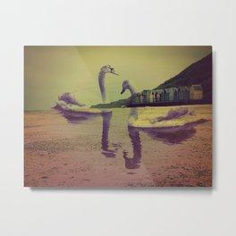 Swan Sands Metal Print