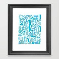 Bakelite Framed Art Print