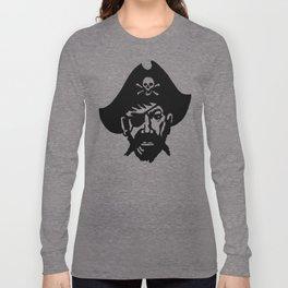 Captain Kidd II (The Rude Pirate) Long Sleeve T-shirt