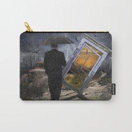 Through a Broken Window Carry-All Pouch
