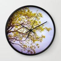 zen Wall Clocks featuring Zen by Sandra Arduini